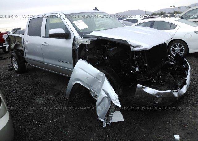 3gcukrec6jg489827 Salvage Silver Chevrolet Silverado At Phoenix Az