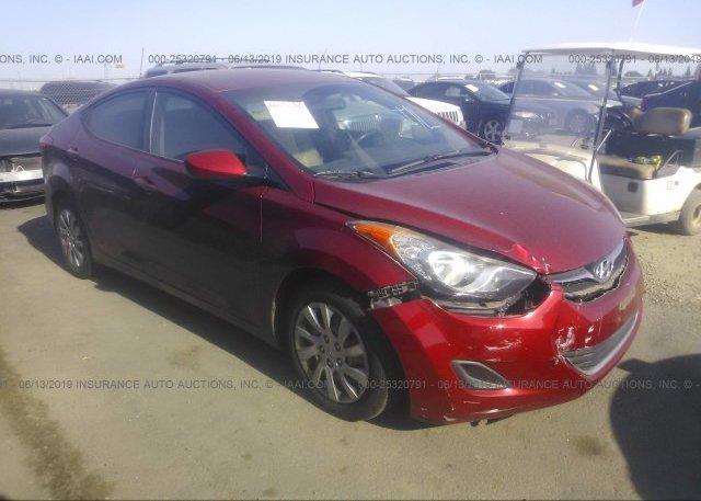 Inventory #733495714 2012 Hyundai ELANTRA