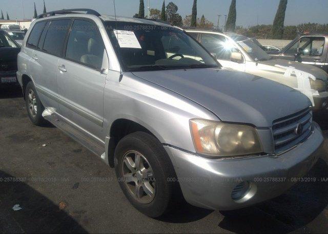 Inventory #999095606 2002 Toyota HIGHLANDER