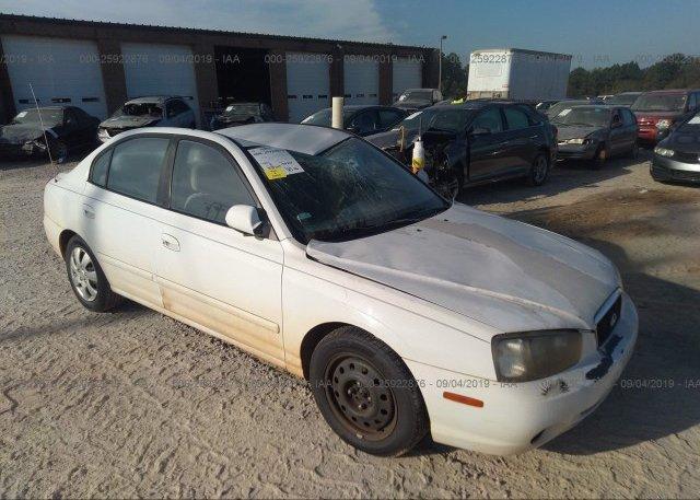 Inventory #395724813 2001 Hyundai ELANTRA