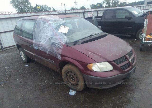 Inventory #473963286 2001 Dodge CARAVAN