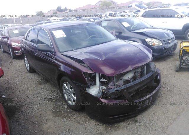 Inventory #758821585 2007 Toyota AVALON