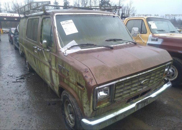 Inventory #878732793 1988 FORD ECONOLINE