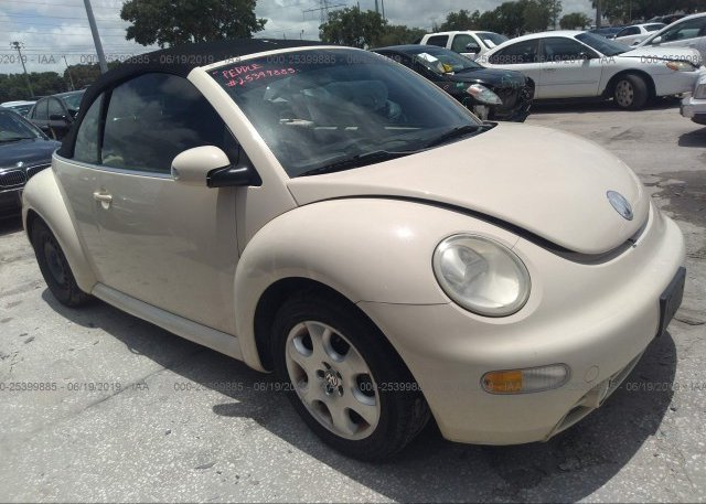 Inventory #832889743 2003 Volkswagen NEW BEETLE