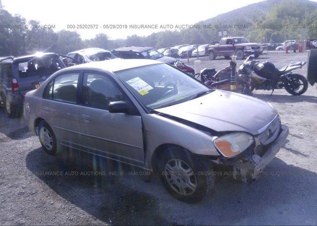 Inventory #602483108 2002 Honda CIVIC
