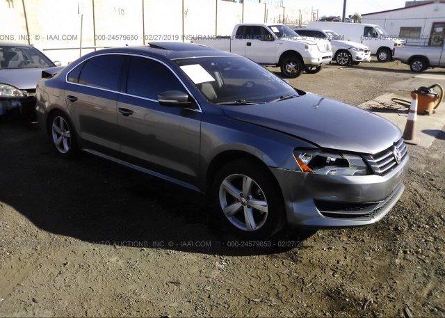 Inventory #427180303 2013 Volkswagen PASSAT