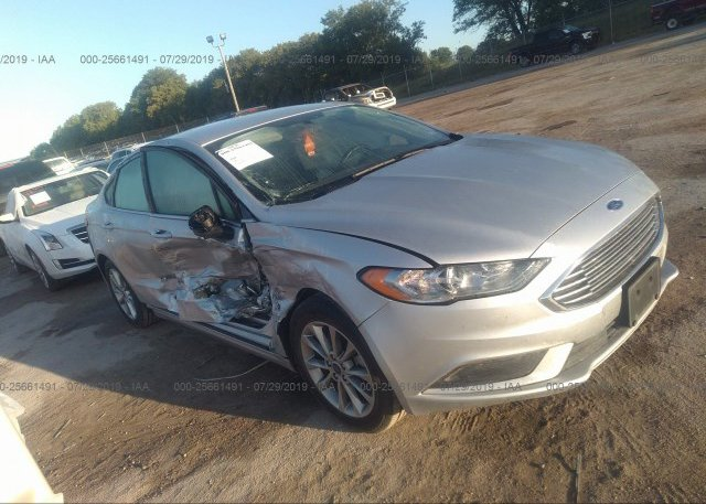 Inventory #160102635 2017 FORD FUSION