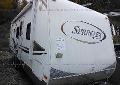 2009 KEYSTONE SPRINTER OTHER - YYDT2502791532467 Left View