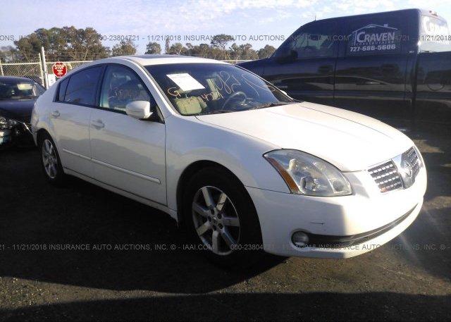 Inventory #672543204 2004 Nissan MAXIMA