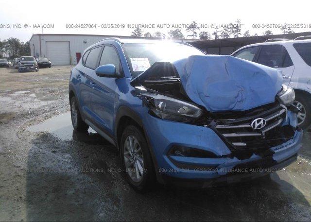 Tucson Car Auction >> Km8j33a47hu401060 Salvage Blue Hyundai Tucson At Livingston La On