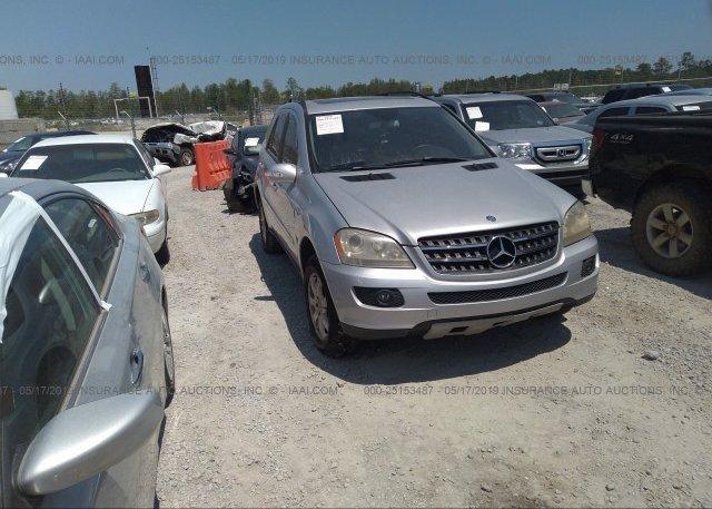 Inventory #728308078 2006 Mercedes-benz ML