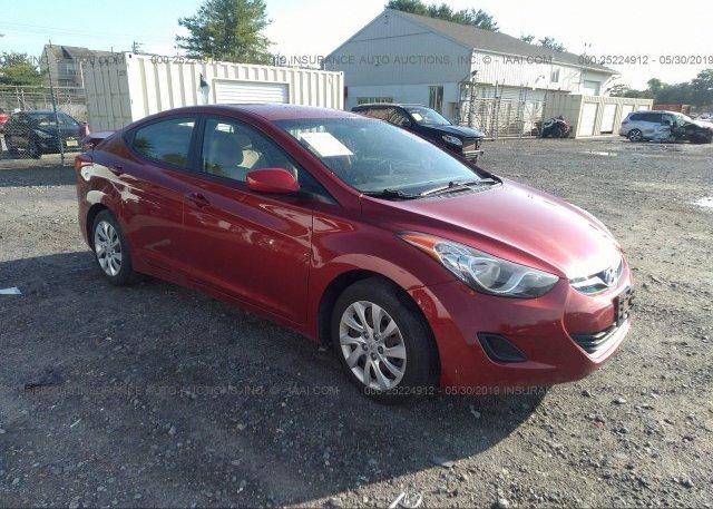 Inventory #408367585 2012 Hyundai ELANTRA