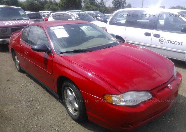 Inventory #667611879 2004 Chevrolet MONTE CARLO