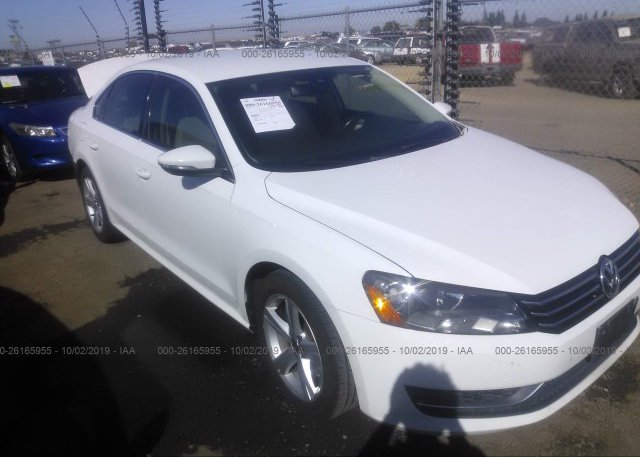 Inventory #454320021 2012 Volkswagen PASSAT