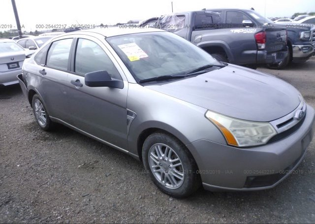 Inventory #249300015 2008 FORD FOCUS