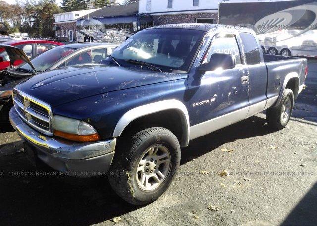 2001 Dodge DAKOTA - 1B7GG22N31S284891