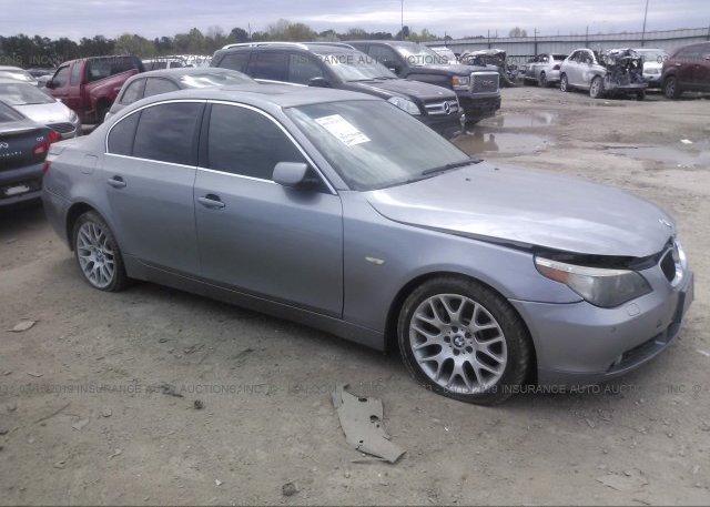Inventory #976150260 2007 BMW 550
