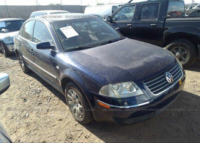Inventory #758197728 2003 Volkswagen PASSAT