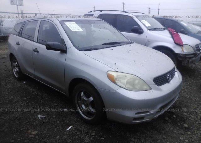 Inventory #525759800 2004 Toyota COROLLA MATRIX