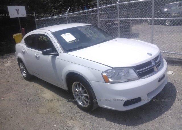 Inventory #831143887 2012 Dodge AVENGER