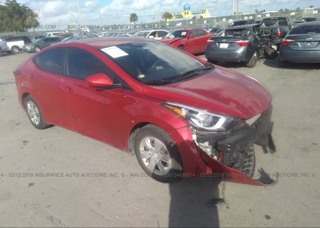 Inventory #120638938 2016 Hyundai ELANTRA