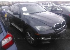 2013 BMW X6 - 5UXFG2C59DL785405 Left View
