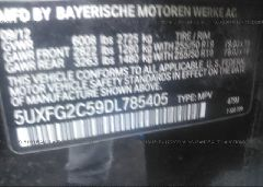 2013 BMW X6 - 5UXFG2C59DL785405 engine view