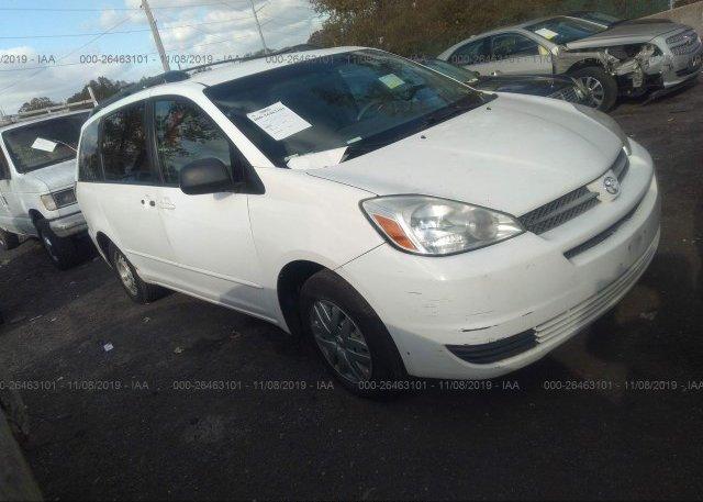 Inventory #995770686 2005 Toyota SIENNA