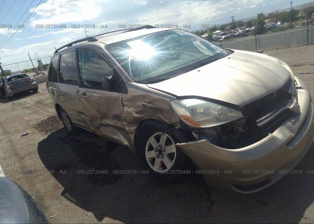 Inventory #647114754 2004 Toyota SIENNA