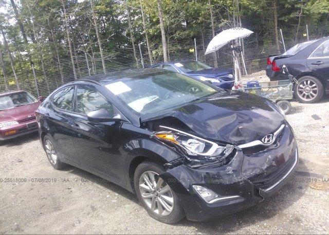 Inventory #855204637 2014 Hyundai ELANTRA