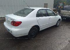2003 Toyota COROLLA - 2T1BR32E63C029988 rear view