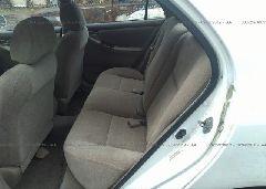 2003 Toyota COROLLA - 2T1BR32E63C029988 front view