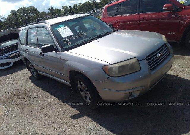 Inventory #790904743 2007 Subaru FORESTER