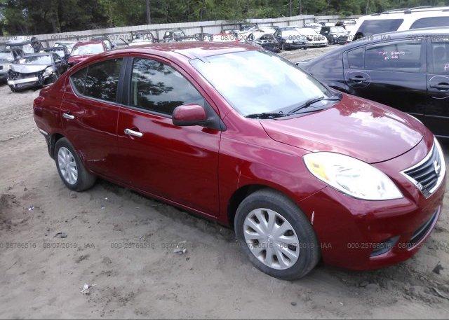 Inventory #781127379 2012 Nissan VERSA