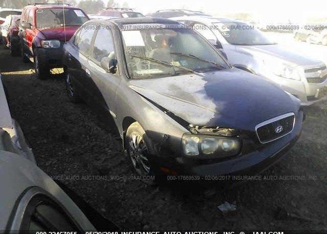 Inventory #734410442 2002 Hyundai ELANTRA