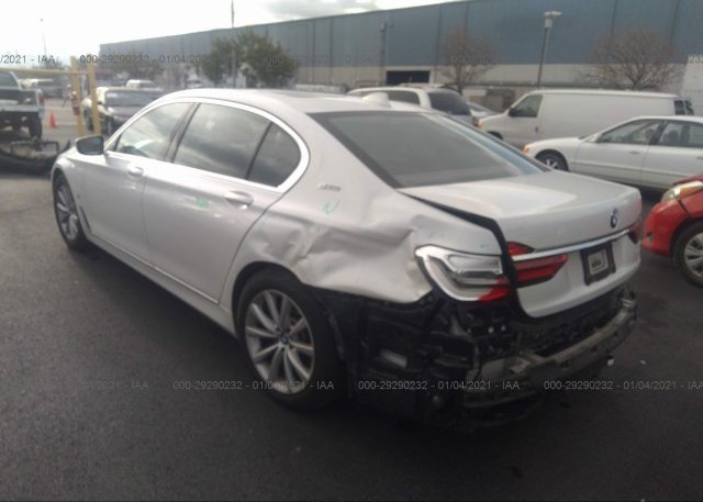 купить 2017 BMW 7 SERIES WBA7J2C32HG497808