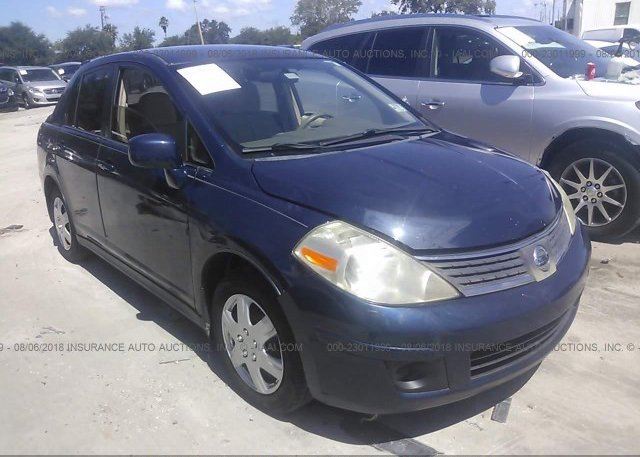 3n1cn7ap1cl857568 Salvage Certificate Blue Nissan Versa At Fremont