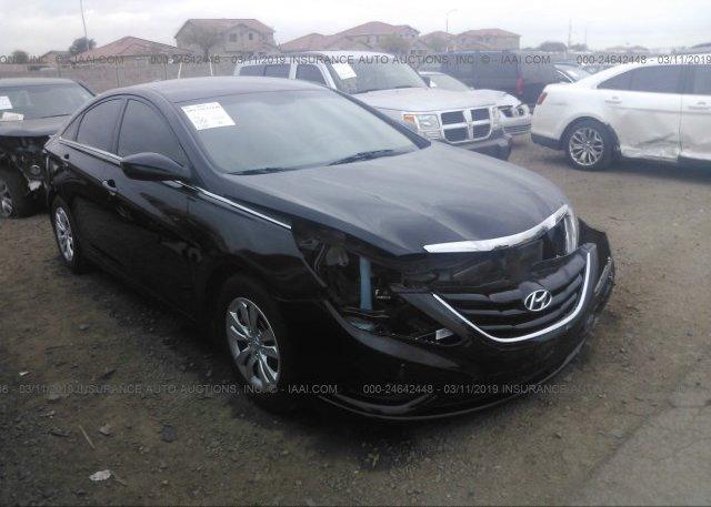 Inventory #871856105 2012 Hyundai SONATA