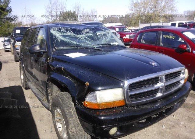 Inventory #745351366 2002 Dodge DURANGO