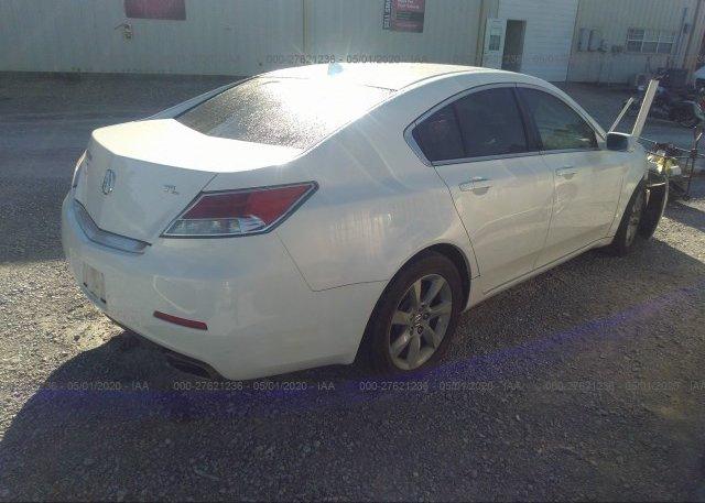цена в сша 2012 Acura TL 19UUA8F24CA027661