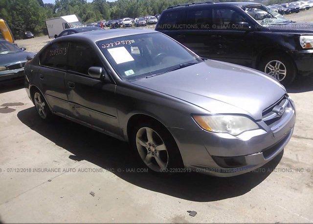 Inventory #388268715 2008 Subaru LEGACY