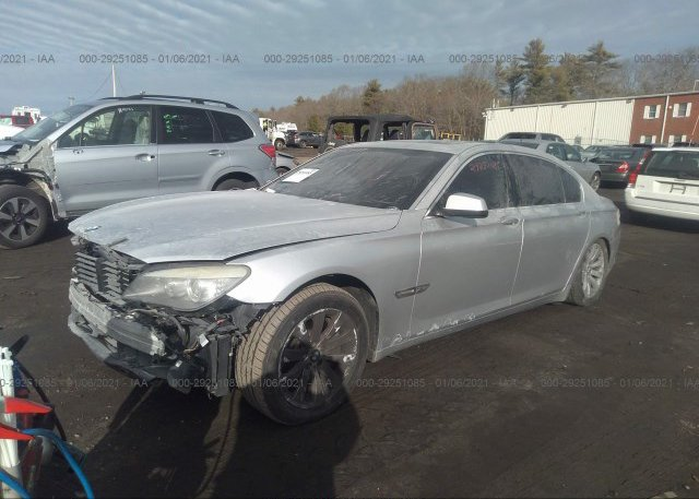 из сша 2010 BMW 7 SERIES WBAKC8C52AC430101
