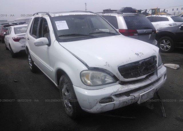 Inventory #709300110 2002 Mercedes-benz ML