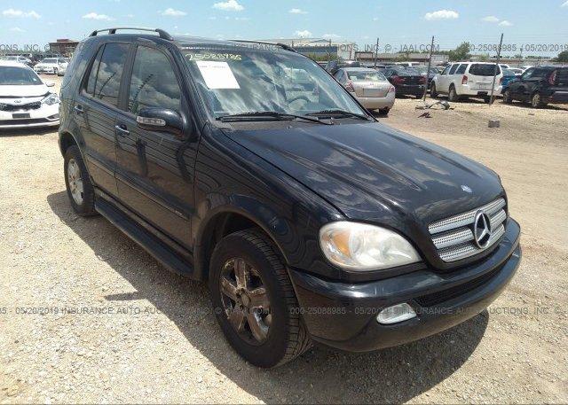 Inventory #566522774 2005 Mercedes-benz ML