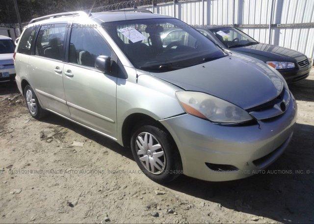 Inventory #998728513 2006 Toyota SIENNA