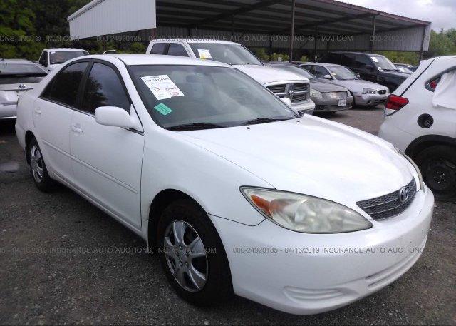 Inventory #579841067 2002 Toyota CAMRY