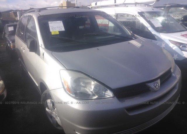Inventory #477287736 2005 Toyota SIENNA