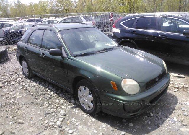 Inventory #890994698 2003 Subaru IMPREZA