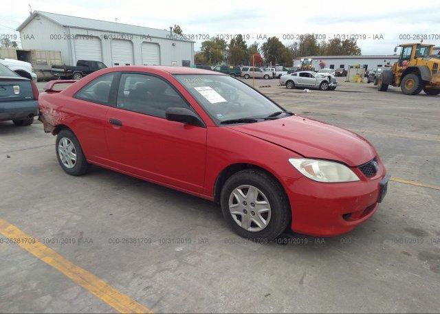 Inventory #733877111 2005 Honda CIVIC