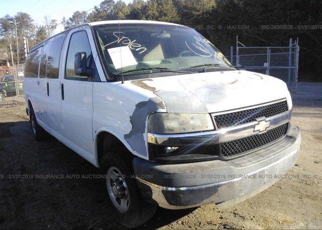 Inventory #857596919 2010 Chevrolet EXPRESS G3500